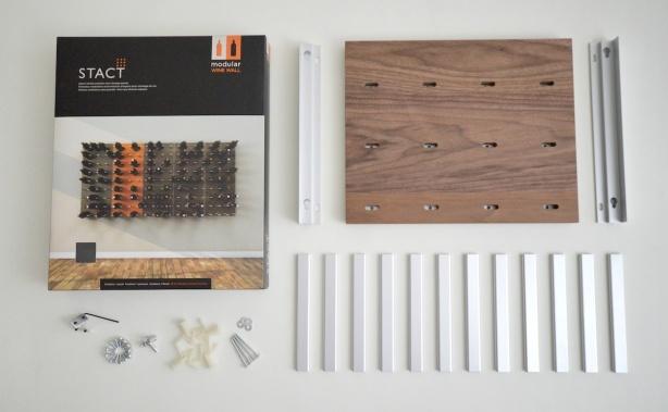 build modular wine rack
